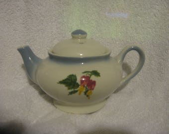 MOORE McCORMACK TEAPOT Individual Ship Lines Sterling China.