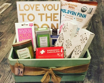 Personalized Relaxation Crate