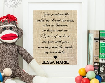 Miscarriage Gift, Miscarriage In Memory of Gift, Miscarriage Remembrance, Sympathy Gift for Pregnancy Loss, Miscarriage Memorial, In Memory