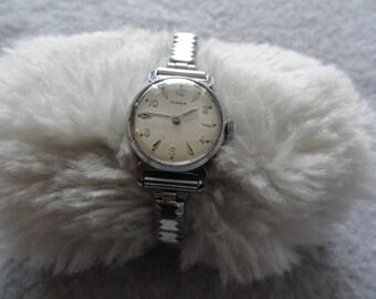 Vintage Wind Up Timex Water Resistant Ladies Watch