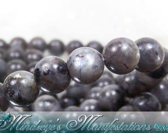 1 Strand Norwegian Labradorite Beads 6mm