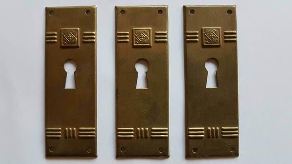 Vintage Key Hole Cover Art Deco Style Key Hole Cover