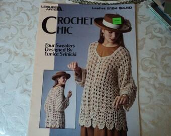 Leisure Arts Crochet Chic Leaflet 2194