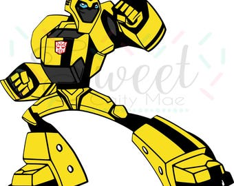 TRANSFORMERS / Bumblebee / Optimus Prime / Cut File / Cameo Projects / Cricut Projects / Silhouette Project / SVG / T-Shirt / Birthday Party