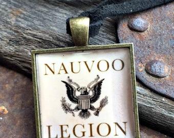 Nauvoo Legion Leather Neckband