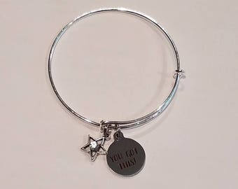 PROJECT ATHENA FUNDRAISER Bangle Bracelet - You Got This