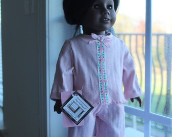 Baby Pink Cotton Knit Pjs