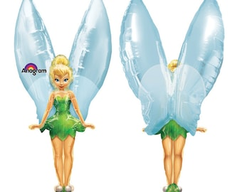 """45"""" Tinkerbell fairy wings balloon party decoration Pixie Hollow"""