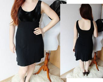 BLACK DRESS ~ Clearance black dress ~ Velvet  dress ~ Little black dress ~ Jersey dress ~  French jersey ~ Doll dress ~ School dress