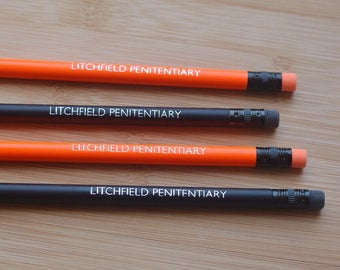 Litchfield Penitentiary  • Set of Hand Foiled Pencils