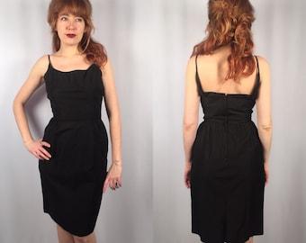 Classic 1960's little black dress Bobbie Brooks