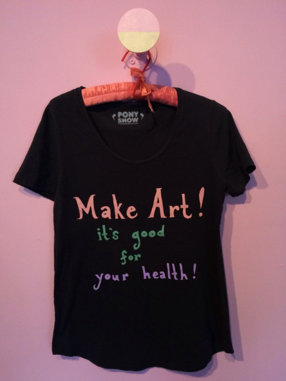 Make Art! Gals tee