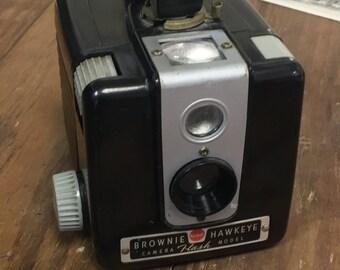 Vintage Brownie Hawkeye Flash Model Camera