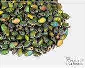 5 g Vitrail Full Matted Czech Gekko Beads 3x5 mm (10962)