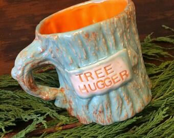 Tree Hugger mug, coffee mug, graduation gift, birthday gift