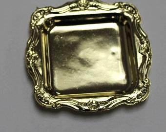 Mini Square Plate GOLD