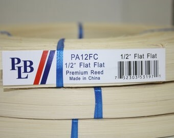 "Reed , 1/2 "" FLAT PL Butte,blue ribbon reed best in the business"
