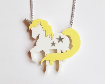 Unicornzzz Lemon Sorbet Necklace (LIMITED)