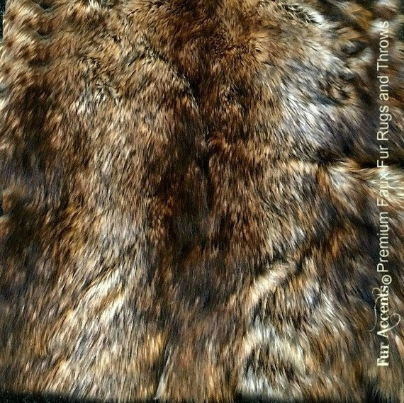 Faux Fur Fabric Yardage / Cutting / Swatch / Sample/ Piece