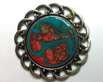Magnetic Brooch
