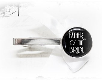 Tie clip, father of the bride