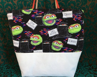 Oscar the Grouch Bag
