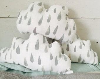 Linen cloud pillow