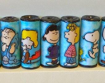 Paper Beads- Peanuts Gang
