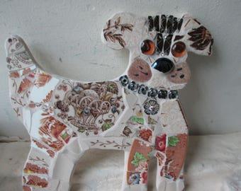 Mosaic Terrier Dog