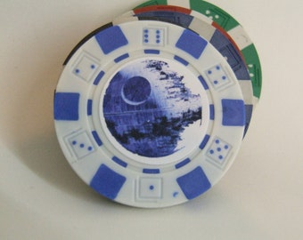 The Death Star Poker Chip, Game of Poker/Fish Extender Gifts/Star Wars Fans/Star Wars
