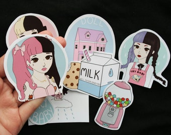 Cry Baby Stickers