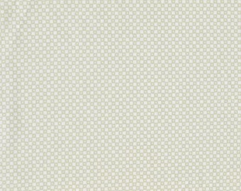 Mesa Cotton and Steel DiningCar Snow Off white Cream Tonal Solid Alexia Abegg Fabric BTY 1 Yd