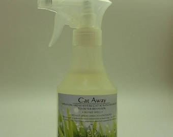 """Cat Away"" Spray protects your furniture from cat scratching"