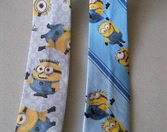 Childrens Minion Neckties