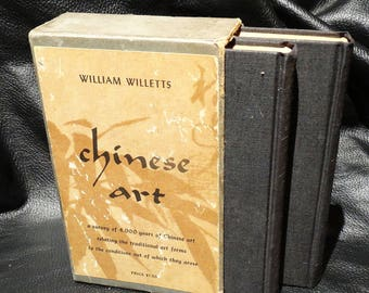 Chinese Art 1st Ed. Boxed Set Books William Willetts 1958