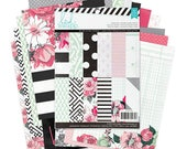 "032-Hello beautiful - 6 x 8 ""paper pad - Heidi Swapp"