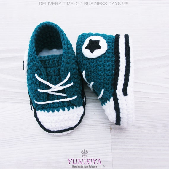 Crochet Baby Shoes Crochet Baby Booties Baby Boy Shoes Baby