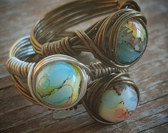 Groovy Earth® Copper Wire Ring