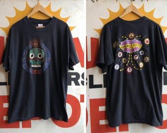 "Vintage 1995 Oingo Boingo  ""Dia de Los Muertos"" Farewell Tour T Shirt"