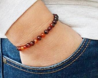 Mens Bracelet 6 mm AGATE BRACELET Natural Bracelet Chakra Energy Yoga Bracelet Agate Mat Meditation Healt Chains Bracelet Energy Agate