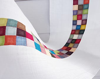 pojagi,bojagi,jogakbo,korean patchwork, wrapping cloth, wall hanging, window covering, shades