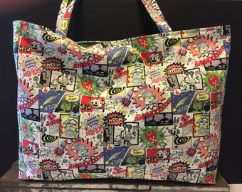 Kitschy Tote *Japenese imported fabric*