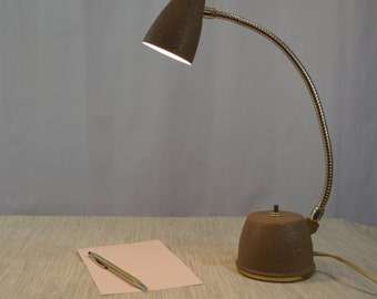Eagle Hi-Lite Bullet Mini Goose Neck 50's Desk Lamp