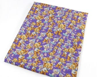 sweet  little bear  fabric
