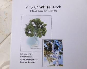 KIT:  White Birch Tree