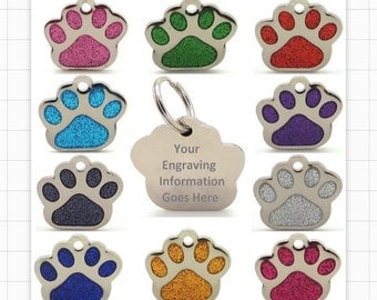 Pet dog ID TAG