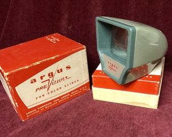 Vintage Photo Slide Viewer - Argus Pre-Viewer