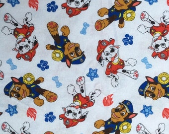 Pretty PAW Patrol pattern Cotton Fabric  50*170 cm 1/2 yard