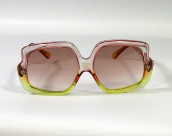 Vintage Pucci Two-tone Sunglasses 1970s