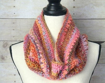 SUMMER SALE - Cotton Candy Carnival Cowl